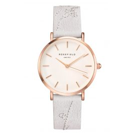 Rosefield CILIR-E93 Damen-Uhr City Bloom Lily White/Rose Gold