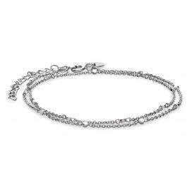 Rosefield JBRS-J010 Damen Wickelarmband Broome Silver