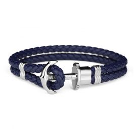 Paul Hewitt PH-PH-L-S-N Anchor Bracelet PHREP Navy-Blue