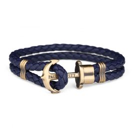 Paul Hewitt PH-PH-L-M-N Bracelet PHREP Navy-Blue/Brass