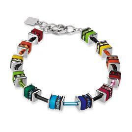 Coeur de Lion 4409/30-1500 Armband Geo Cube Multicolor