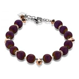 Coeur de Lion 4782/30-800 Damen-Armband Purple