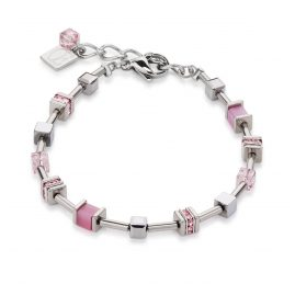 Coeur de Lion 4893/30-1900 Ladies Bracelet GeoCUBE Rose