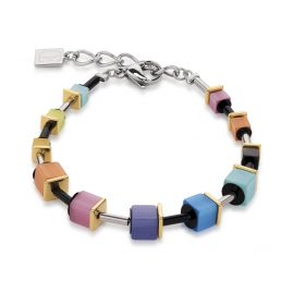 Coeur de Lion 4909/30-1520 Armband Multicolor Rainbow