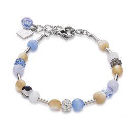 Coeur de Lion 4913/30-0720 Damen-Armband Hellblau
