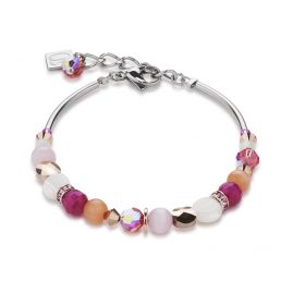 Coeur de Lion 4914/30-0402 Armband Pink-Orange