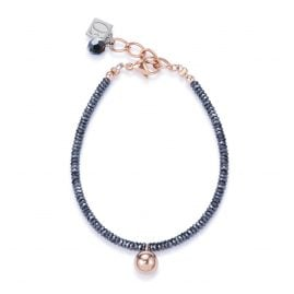Coeur de Lion 4934/30-1620 Damen-Armband Hämatit/Rosé