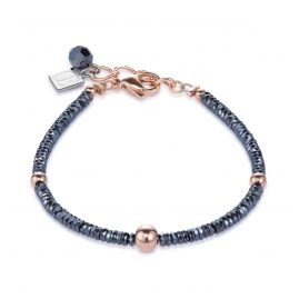Coeur de Lion 4933/30-1620 Ladies' Bracelet Haematite/Rose