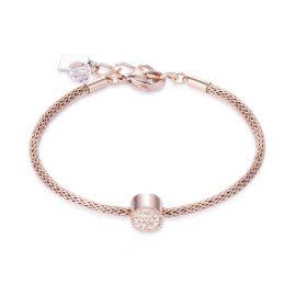 Coeur de Lion 0218/30-0225 Damenarmband Pfirsich/Rosé