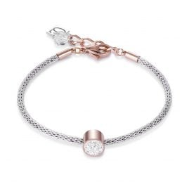 Coeur de Lion 0218/30-1800 Ladies' Bracelet White/Steel/Rose