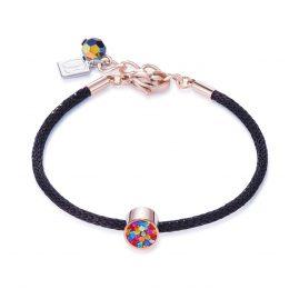 Coeur de Lion 0218/30-1500 Damen-Armband Bunt/Schwarz/Rosé