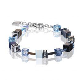 Coeur de Lion 2838/30-0737 Damenarmband Blau/Aqua