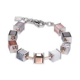 Coeur de Lion 4747/30-1022 Damen-Armband Malachit Nude