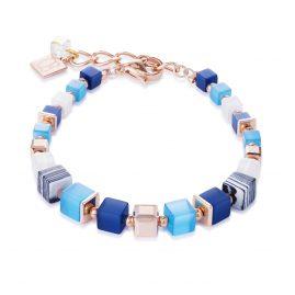 Coeur de Lion 4963/30-0706 Damen-Armband Blau/Türkis