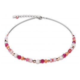 Coeur de Lion 4914/10-0402 Collier Pink-Orange