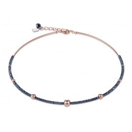Coeur de Lion 4933/10-1620 Ladies' Necklace Haematite/Rose