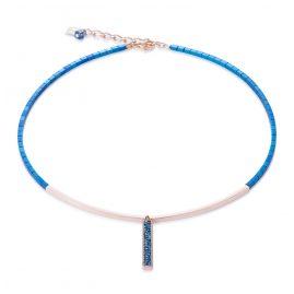 Coeur de Lion 4930/10-0735 Damencollier Blau/Rosé