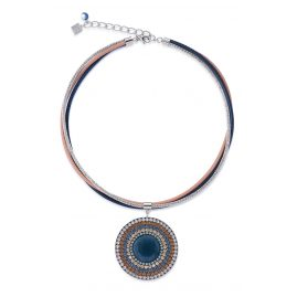 Coeur de Lion 4922/10-0710 Ladies' Necklace Blue/Beige