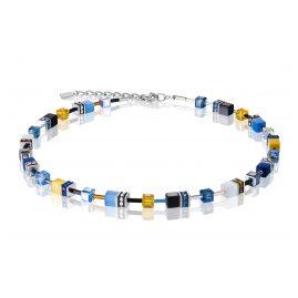 Coeur de Lion 2838/10-0701 Damenkette Blau/Gelb
