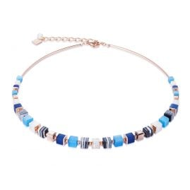 Coeur de Lion 4963/10-0706 Ladies´ Necklace Blue/Turquoise