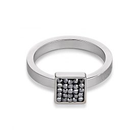 Coeur de Lion 0117/40-1223 Ladies Ring Anthracite