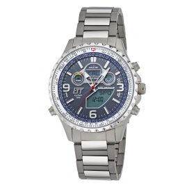 ETT Eco Tech Time EGS-11295-31M Solar Drive Funk-Herrenuhr