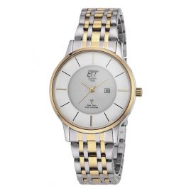 ETT Eco Tech Time EGS-11348-52M Funk Solar Herrenuhr Bicolor Mistral