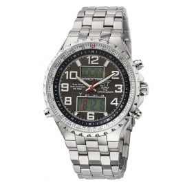 ETT Eco Tech Time EGS-11328-81M Solar Drive RC Mens Watch Professional