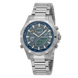 ETT Eco Tech Time EGT-11355-50M Solar Drive Radio-Controlled Men's Watch Chronograph
