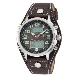 ETT Eco Tech Time EGS-11303-21L Solar Drive Radio-Controlled Watch Chronograph Hunter II