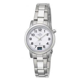 Master Time MTLA-10301-12M Damen-Funkuhr Basic Classic