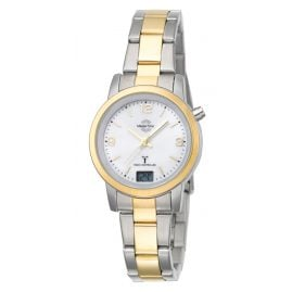 Master Time MTLA-10305-12M Radio-Controlled Womens Watch Basic Two-Colour