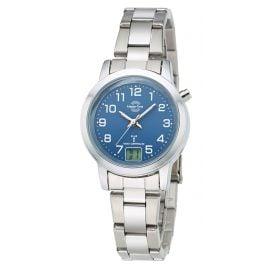 Master Time MTLA-10491-32M Damen-Funkuhr Basic Classic