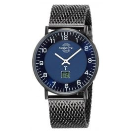 Master Time MTGS-10559-32M Herren-Funkuhr Advanced Slim