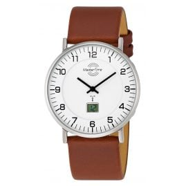 Master Time MTGS-10561-12L Herren-Funkuhr Advanced Slim