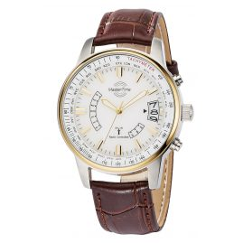 Master Time MTGS-10348-11L Radio-Controlled Mens Watch Specialist