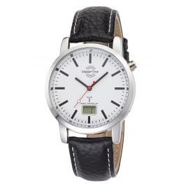 Master Time MTGA-10592-20L Basic Funk-Herrenuhr