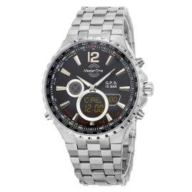 Master Time MTGT-10634-10M Herren-Funkuhr GPS World Timer Titan
