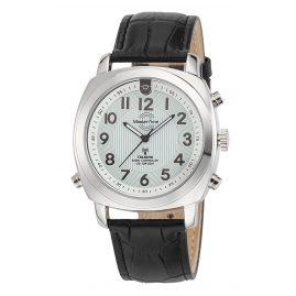 Master Time MTGA-10632-10L Sprechende Funkuhr