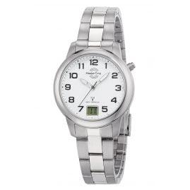 Master Time MTLT-10654-41M Titanium Ladies' Radio-Controlled Watch