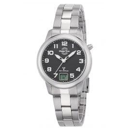 Master Time MTLT-10652-51M Titanium Ladies' Radio-Controlled Wristwatch