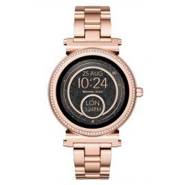 Michael Kors Access MKT5022 Damen-Smartwatch Sofie Pavé Roségoldfarben