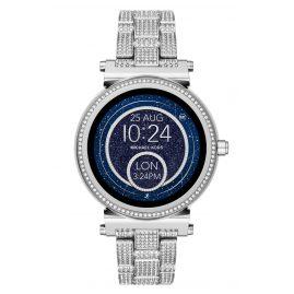 Michael Kors Access MKT5024 Smartwatch Sofie Pavé Silberfarben