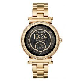 Michael Kors Access MKT5021 Damen-Smartwatch Sofie Pavé Goldfarben