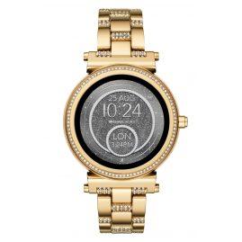 Michael Kors Access MKT5023 Damen-Smartwatch Sofie Pavé Goldfarben