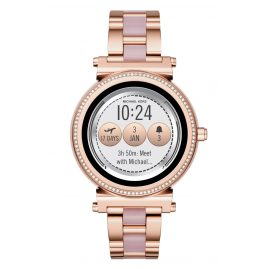 Michael Kors Access MKT5041 Ladies Smartwatch Sofie Rose Gold-Tone