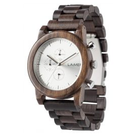 Laimer 0061 Mens Wood Chronograph Damian