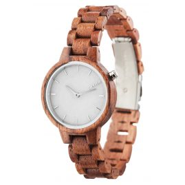 Laimer 0070 Womens Wood Watch Marmo Rose