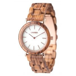 Laimer 0072 Wooden Ladies Watch Leona
