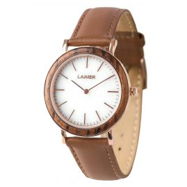 Laimer 0074 Ladies Wood Watch Laila